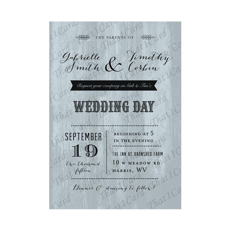 Wedding - That1Card